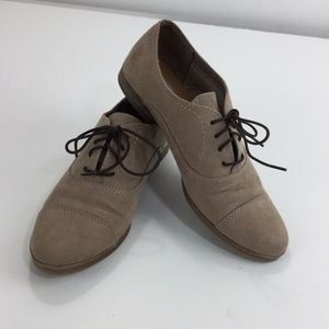 Dolce Vita Target Brown Oxford Shoes Lace up